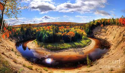 Autumn In Arrowhead Provincial Park Poster by Oleksiy Maksymenko
