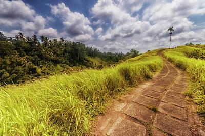 Bali Landscape Poster