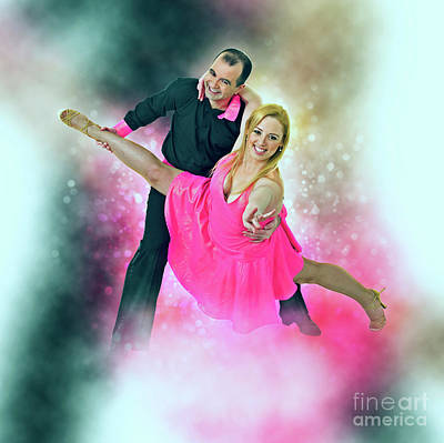 Ball Room Dancers Poster by Humorous Quotes