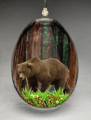 Bear Art Poster