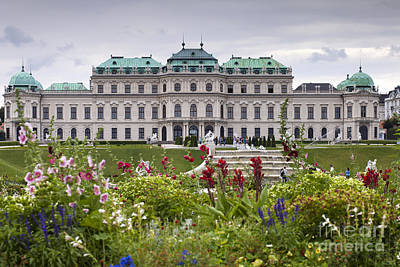 Belvedere Palace Poster by Andre Goncalves