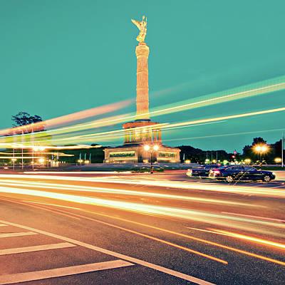 Berlin - Victory Column Poster by Alexander Voss