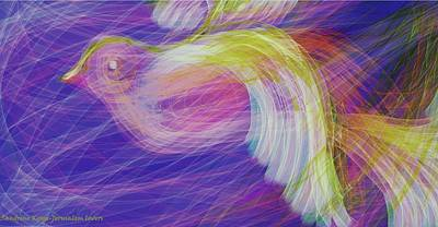 Bird Poster by Sandrine Kespi