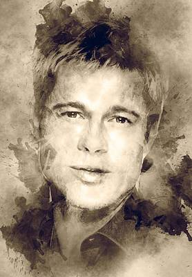 Brad Pitt  Poster by Best Actors