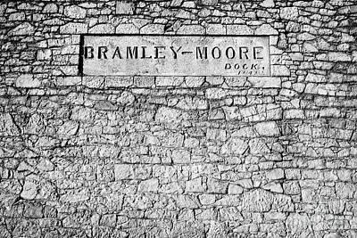 Bramley-moore Dock Liverpool Docks Dockland Uk Poster by Joe Fox