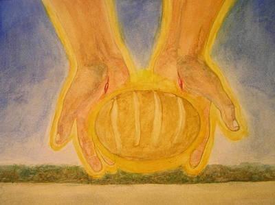 Bread From Heaven Poster by Nigel Wynter