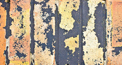 Bricks Poster by Tom Gowanlock