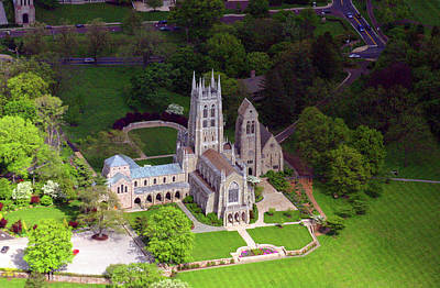 Bryn Athyn Cathedral 900 Cathedral Road  Bryn Athyn Pa 19009 Poster by Duncan Pearson
