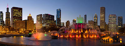 Buckingham Fountain Poster by Twenty Two North Photography