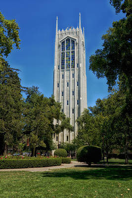 Burns Tower -university Of The Pacific Poster by Mountain Dreams