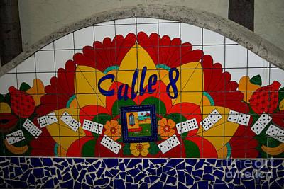 Calle Ocho Cuban Festival Miami Poster by Carol Ailles