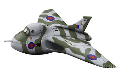 Cartoon Illustration Of A Royal Air Poster