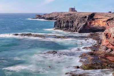 Castillo De Las Coloradas - Lanzarote Poster