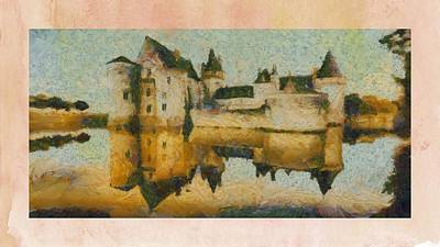 Castles Poster by Pierre Blanchard