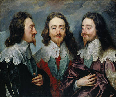 Charles I Poster by Anthony van Dyck