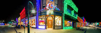 Christmas Lights In Rochester Poster by Twenty Two North Photography