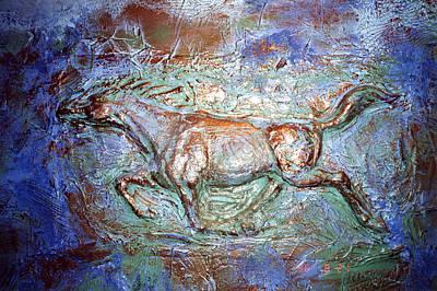 3 D Horse Poster