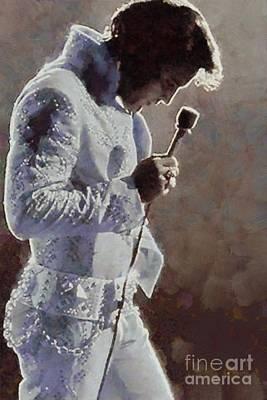 Elvis Presley, Music Legend Poster
