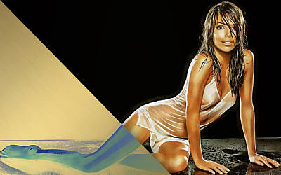 Eva Longoria Collection Poster by Marvin Blaine