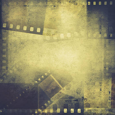 Film Frames  Poster by Les Cunliffe