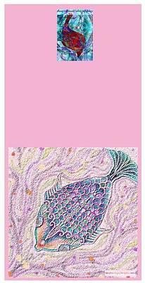 Fish Poster by Sandrine Kespi