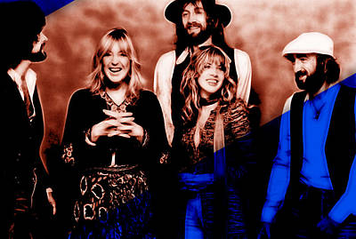 Fleetwood Mac Collection Poster by Marvin Blaine