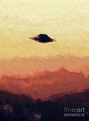 Flying Saucer Poster