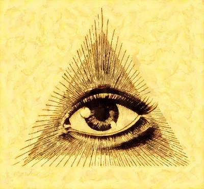 Freemason Symbolism By Pierre Blanchard Poster by Pierre Blanchard