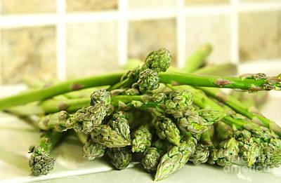 Green Asparagus Poster