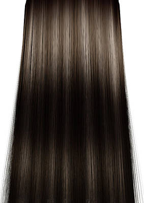 Hair Perfect Straight Poster by Allan Swart