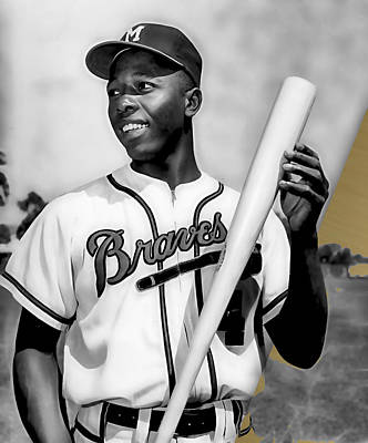 Hank Aaron Collection Poster