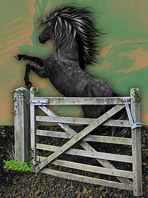 Horse Dreams Collection Poster by Marvin Blaine