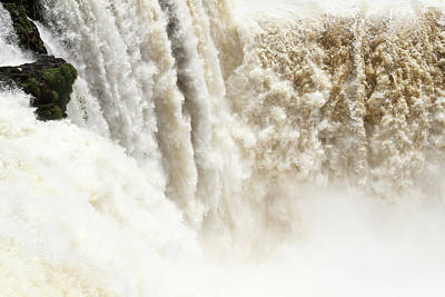Poster featuring the photograph Iguazu Falls by Silvia Bruno