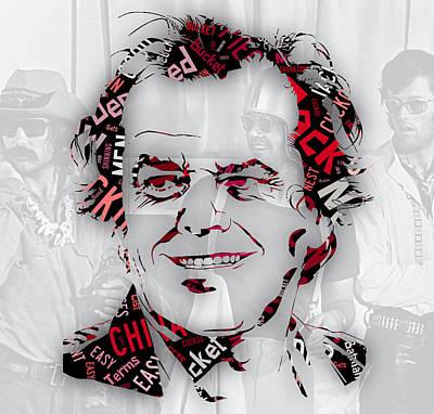 Jack Nicholson Movie Titles Poster