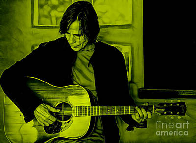 Jackson Browne Collection Poster