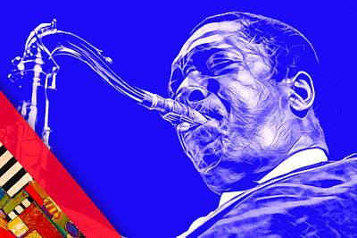 John Coltrane Collection Poster