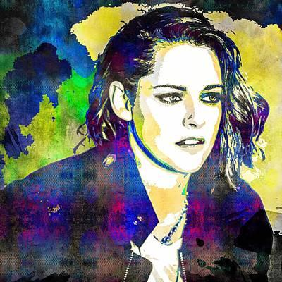 Kristen Stewart Poster by Svelby Art