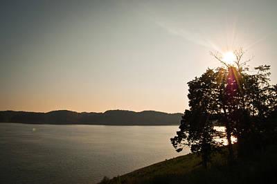 Lake Cumberland Sunset Poster