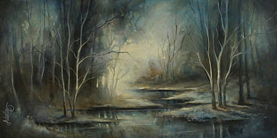 Landscape Poster by Michael Lang
