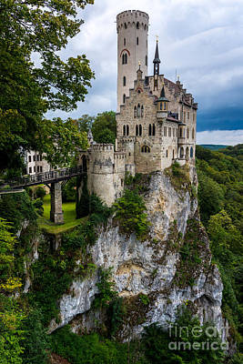 Lichtenstein Castle - Baden-wurttemberg - Germany Poster