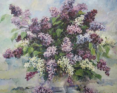 Lilacs Poster by Tigran Ghulyan