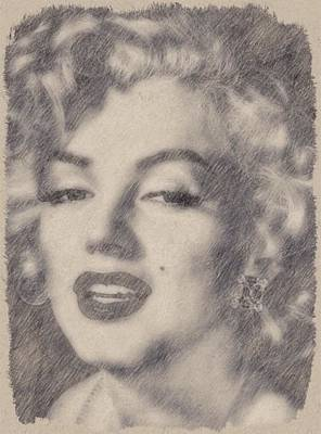Marilyn Monroe By John Springfield Poster