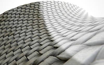 Micro Fabric Weave Comparison Poster
