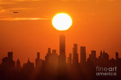 New York City Sunrise Poster