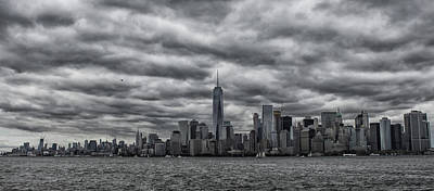 New York Skyline Poster by Martin Newman