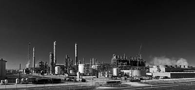 Oil Refinery - Groves Texas Poster