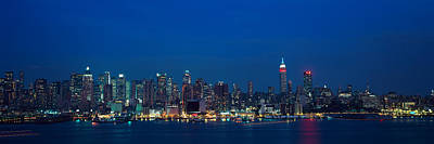 Panoramic View Of Empire State Building Poster by Panoramic Images