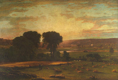 Peace And Plenty Poster by George Inness