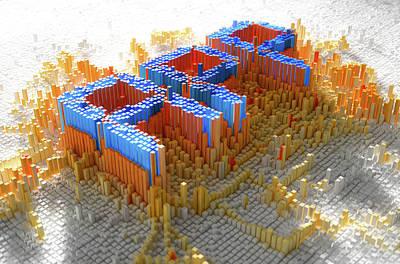Pixel App Concept Poster by Allan Swart