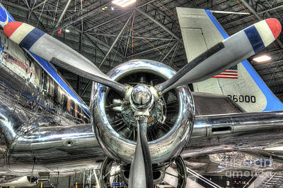 Pratt And Whitney R-2800 - Douglas, Vc-118 - The Independence  Poster